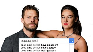 Jamie Dornan \u0026 Shailene Woodley Answer the Web's Most Searched Questions | WIRED