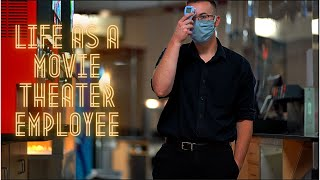 The Life of a Movie Theater Employee  Vlog