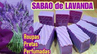 Receita Sabão Caseiro Lavanda – Para Roupas Preta
