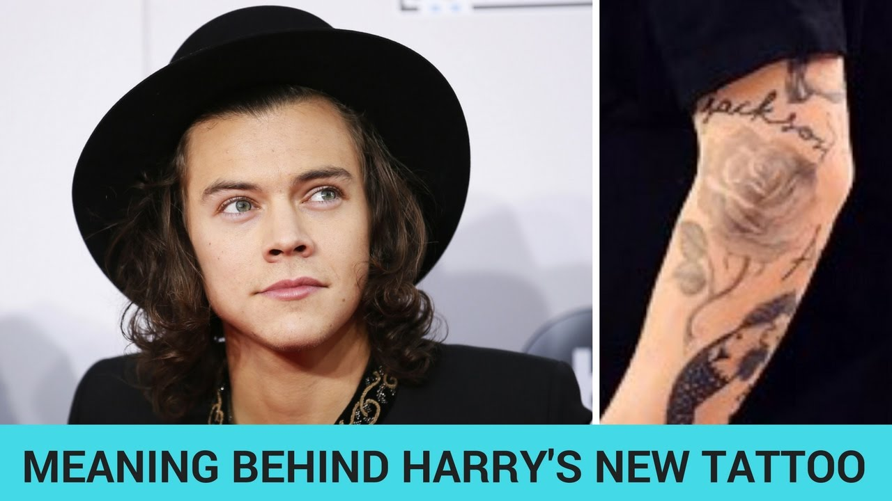 The Truth Behind Harry Styles New Tattoo Hollywire Youtube