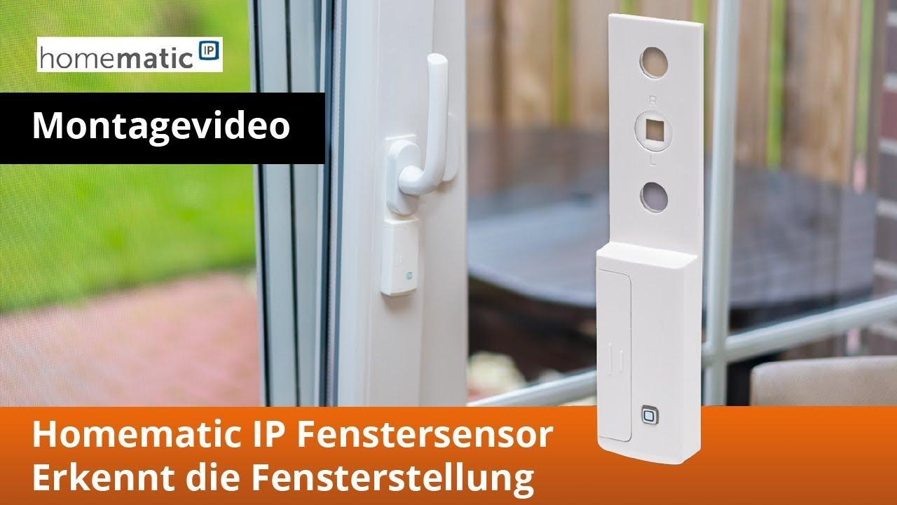 fensterstellung erkennen mit dem elv homematic ip fenstergriffsensor youtube. Black Bedroom Furniture Sets. Home Design Ideas