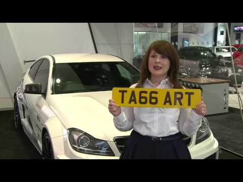 DVLA Personalised Registrations Mercedes Benz World Day 2