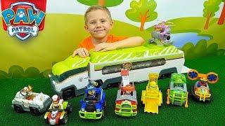 Щенячий Патруль и новый Патрулевоз из серии Джунгли   Машинки для детей Jungle Patroller