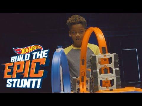 Gauntlet | Build the Epic Stunt | Hot Wheels
