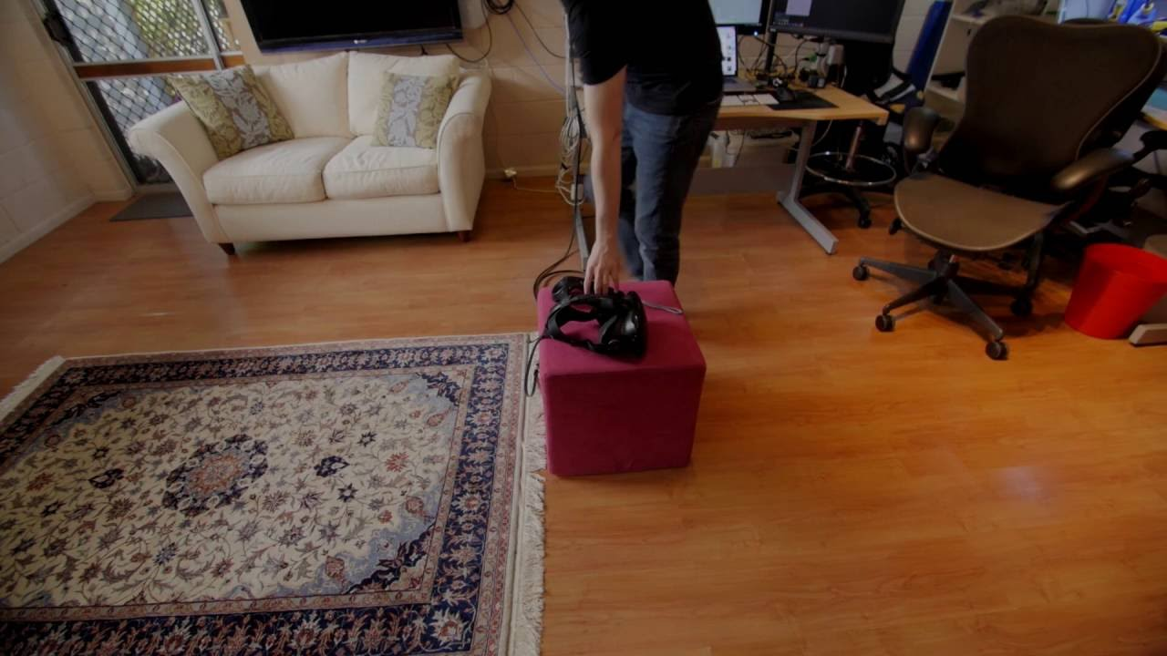 VR Automatic Camera Tracker - Vive controller on Ronin gimbal