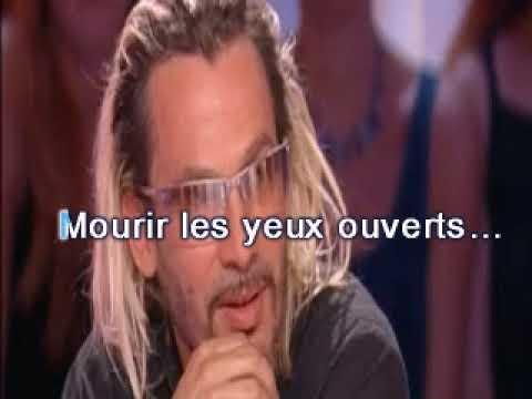 FLORENT PAGNY  MOURIR LES YEUX OUVERTS karaoke