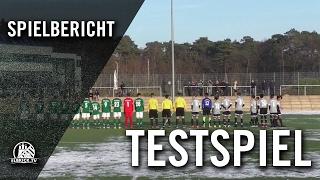 Harburger TB – VfB Lübeck (U15 C-Junioren, Testspiel) – Spielbericht | ELBKICK.TV