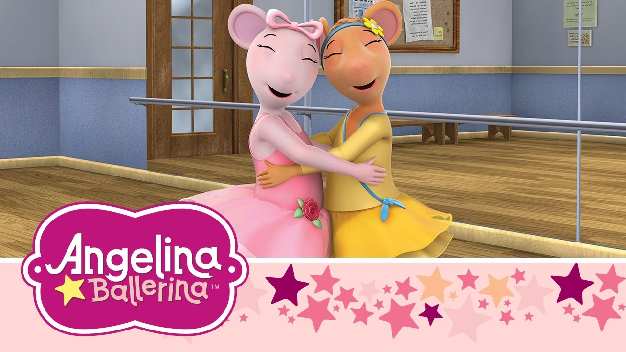 Download Angelina Ballerina - Angelina Keeps the Peace and Angelina and the Tummy Butterflies