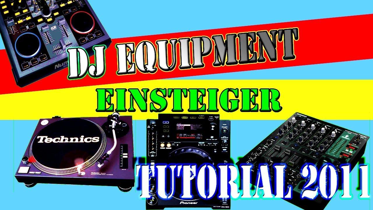 dj anf nger equipment tutorial soft hardware german. Black Bedroom Furniture Sets. Home Design Ideas