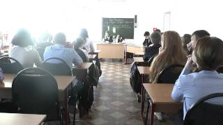 Урок литературы «Суд Истории над князем Игорем Святославовичем»