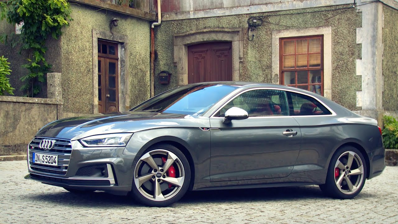 2017 Audi S5 Coupe Drive Interior And Exterior