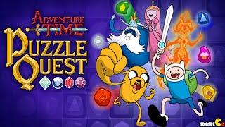 Adventure Time Puzzle Quest - Recruits Princess Bubblegum Match 3 RPG Game