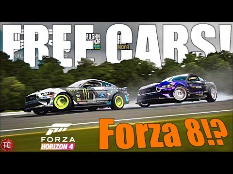Forza Horizon 4 NEW UPDATE, ALL FREE CARS, Everything YOU NEED To KNOW! + Forza Motorsport 8 NEWS!!