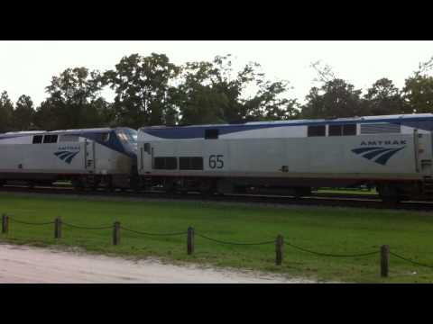 Thumbnail: Crazy Amtrak engineer through folkston!!!