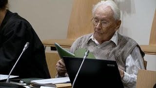 """""""Accountant of Auschwitz"""" sentenced to prison"""