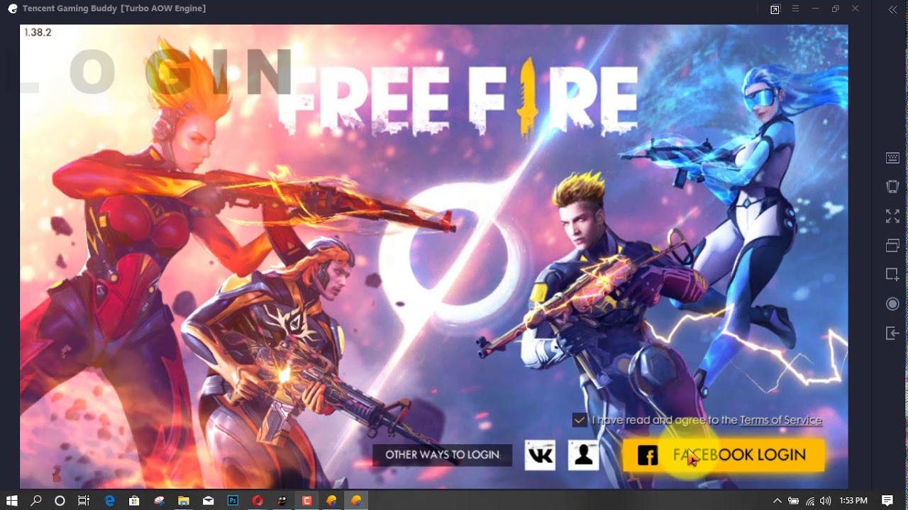 How To Download And Install Free Fire Game In Pc Youtube