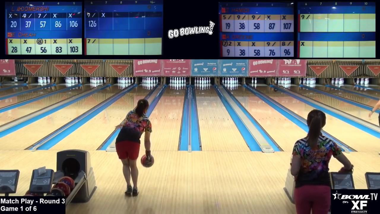 2017 go bowling pwba players championship round 3 match play youtube