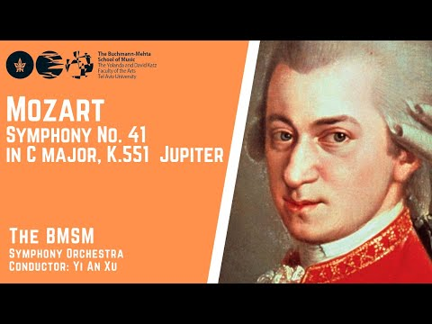 W.A. Mozart - Symphony No. 41in C major, K.551 - Jupiter - The Bmsm Symphony Orchestra