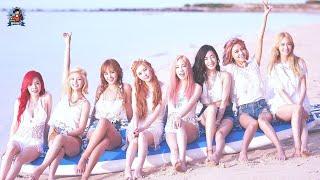 청량 상큼 신나는 여자아이돌 여름노래 | 여름에 어울리는 케이팝 걸그룹 댄스음악 | 여름 휴가를 기다리는 트…