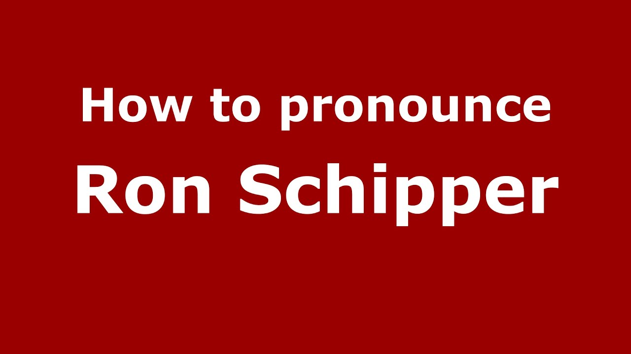 The mysterious word schipper. What is it and where did it come from