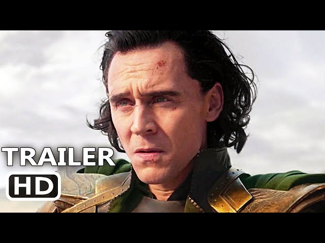 LOKI Trailer 2 (New, 2021) Tom Hiddleston, Marvel Series HD