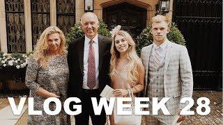 CHANGING MY EYE COLOUR & FAMILY WEDDING   VLOG WEEK 28