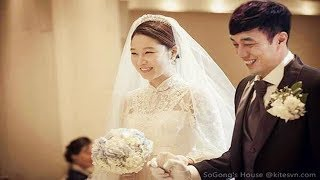 [BREAKING]  So Ji Sub Official Married To 17 Years Younger Announcer Jo Eun Jung.