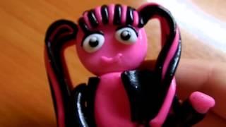 Мои куклы Монстер хай из полимерной глины.