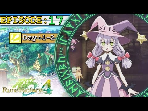 Rune Factory 4 Ep 17: Obsidian Mansion -2Spooky4Me-
