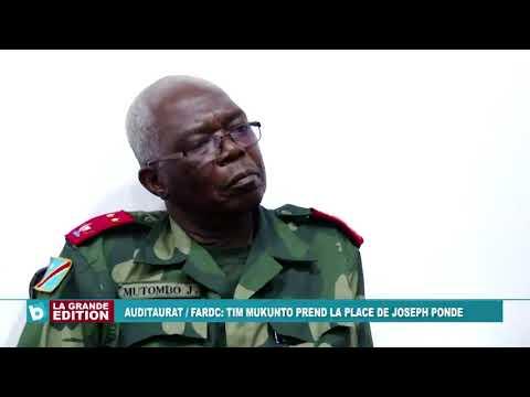 Remise et reprise à l'Auditorat Militaire Fardc
