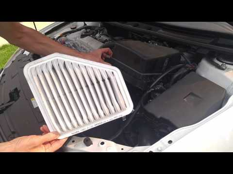Scion TC (2011-2016) - Engine Air Filter Replacement.
