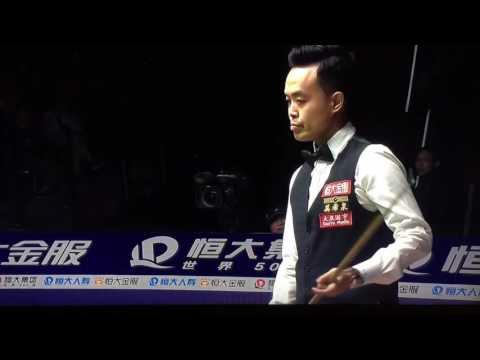 Epic Black Ball At Guangzhou Ding Junhui vs Marco Fu