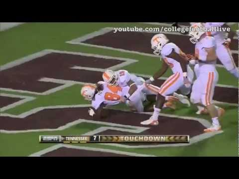 Tennessee WR Cordarrelle Patterson vs Mississippi State