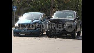 Автолюбитель врезался в машину хабаровчанки, в которой находились дети. Mestoprotv