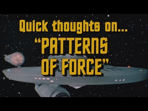 Quick thoughts on... - Patterns of Force