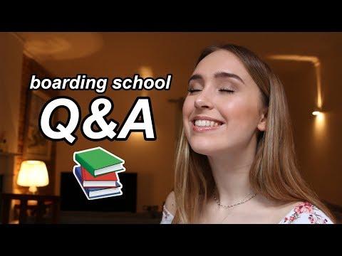 BOARDING SCHOOL Q&A