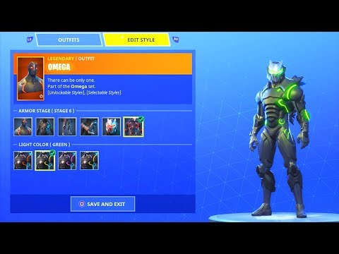 *NEW* OMEGA and CARBIDE COLOR CHANGE!! Fortnite Battle Royale