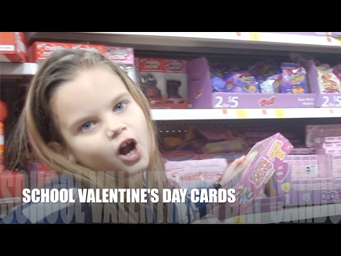 SCHOOL VALENTINE'S DAY CARDS!