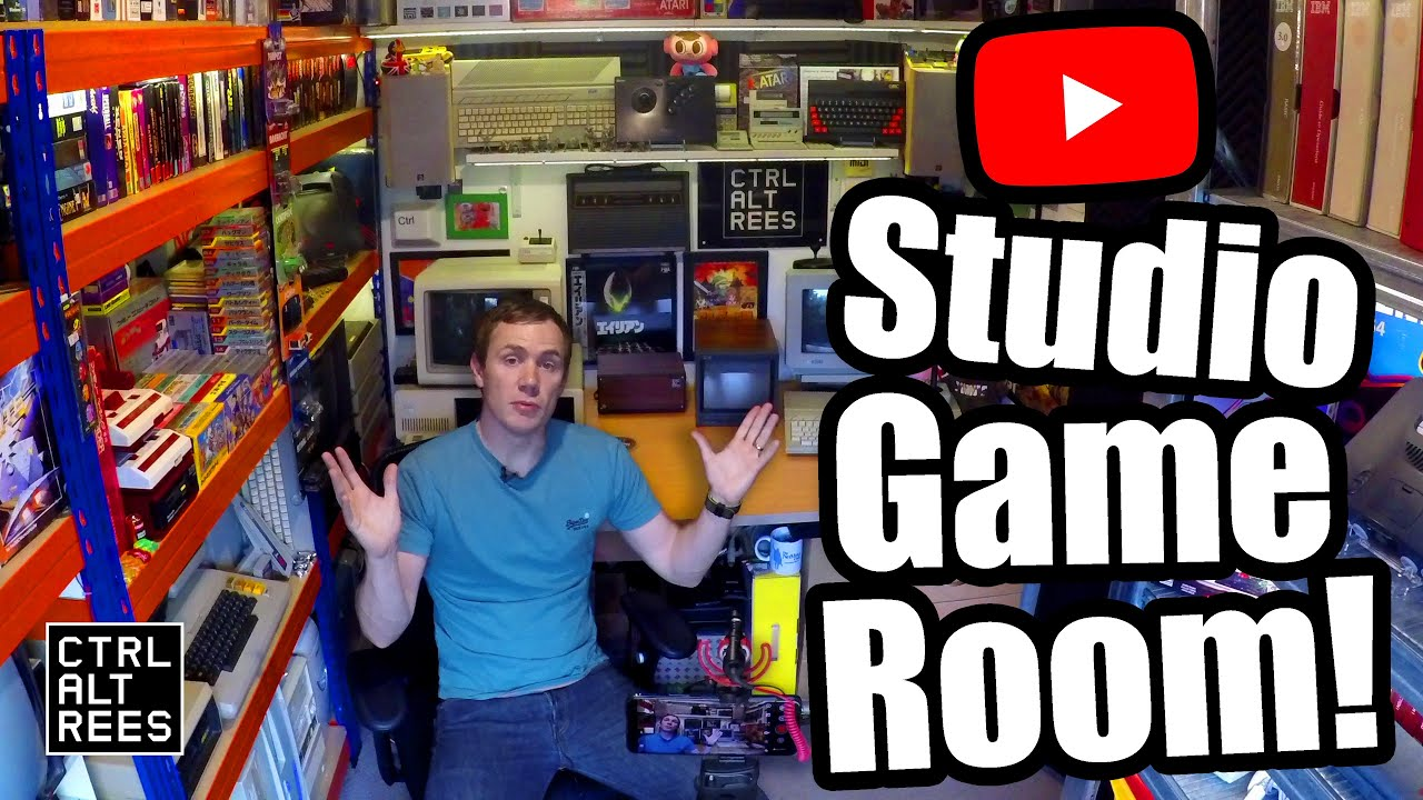 Download Tiny Game Room Tour (2.3m x 2.9m / 7'6 x 9'6) - 2021 Update!