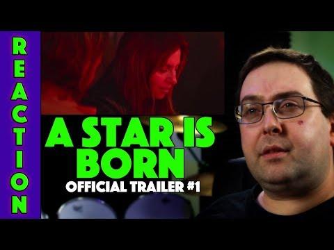 REACTION! A Star is Born Trailer #1 - Bradley Cooper Movie 2018
