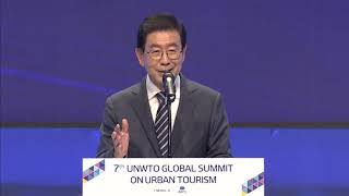 Opening session and Keynote address at the 7th UNWTO Global Summit on Urban Tourism