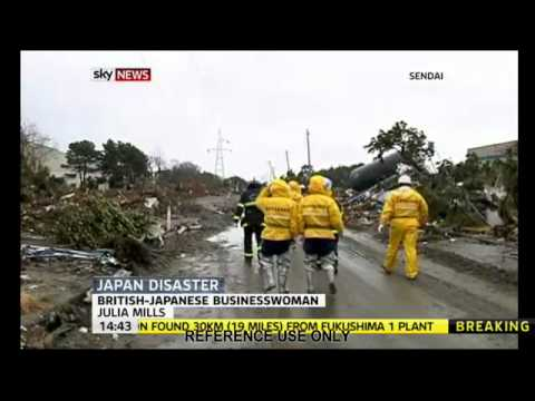 Julia Mills on Sky News talks about the disaster a...