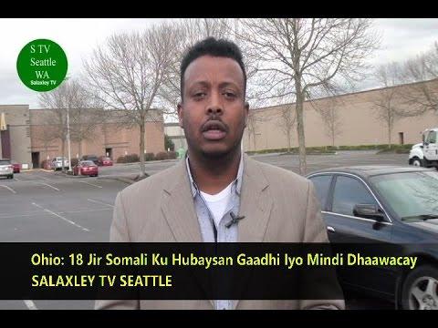 BREAKING NEWS: Ohio, 18 Jir Somali OO Ku Hubaysan Gaadhi Iyo Mindi Dhaawacay