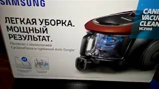 пылесос Samsung Anti-Tangle VC-18M2130SR