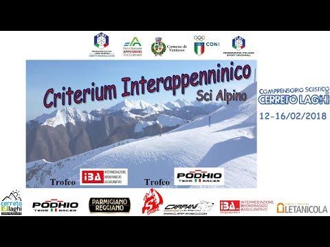Criterium Interappenninico Cerreto Laghi 2018 Gigante allievi 2° manche  #live #sport #sci