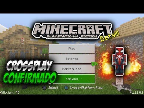 ¡CROSSPLAY CONFIRMADO PS4! NOTICIA CON FECHA Minecraft Consolas