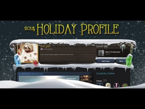 Steam 2014 Holiday Profile - YouTube