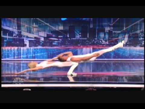Rebecca & Donovan Amazing Dance & Balancing Act