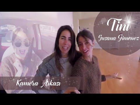 TİNİ Susana Gimenez Kamera Arkası TiniConSusana  TINI
