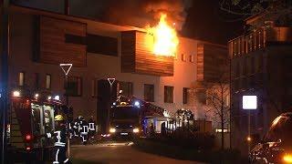 Sauna in Bad Rothenfelde brennt - Carpesol einsturzgefährdet